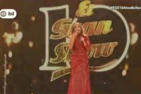 El Gran Show: ¿Gisela Varcárcel muestra más de la cuenta con este vestido transparente? - FOTO