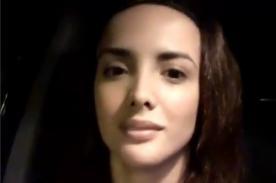 Rosángela Espinoza pudo causar una tragedia grabándose así - VIDEO
