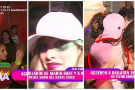 Korina Rivadeneira es agredida e insultada por huaralina en accidentada presentación