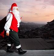 Felices Fiestas: Vea el paso de Santa Claus por Lima y Machu Picchu