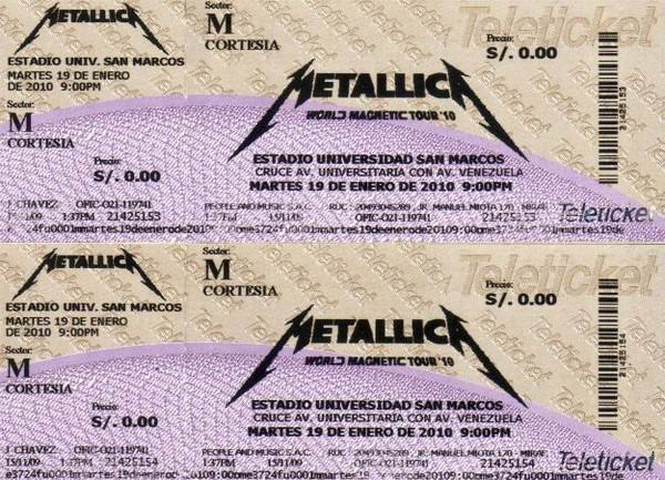 Metallica en Lima: Banda publica fotos del concierto en Facebook
