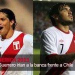 Copa América 2011: Vargas y Guerrero tuvieron un enfrentamiento aparte con los hinchas chilenos