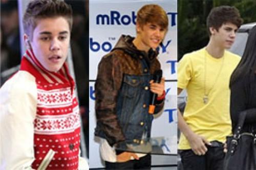 Justin Bieber y sus cambios de look en el tiempo