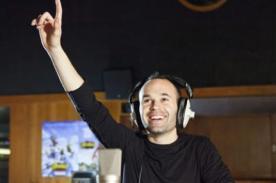 Andrés Iniesta representará la voz de un personaje animado