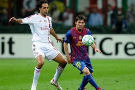 Barcelona vs Milán: Así formarán ambos equipos