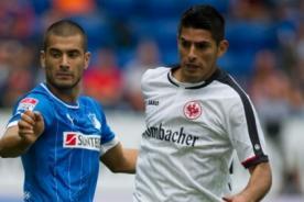 Bundesliga: Carlos Zambrano fue figura en triunfo del Eintracht Frankfurt