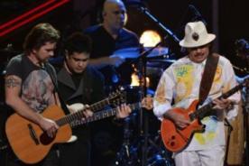 Latin Grammy 2012: Juanes y Santana compartieron escenario (Video)