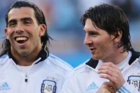 Carlos Tévez: Cristiano es de lo mejor pero siempre me quedaré con Messi
