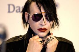 Marilyn Manson se desmayó en pleno concierto - Video