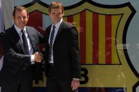 Barcelona: Sandro Rosell ratifica a Tito Vilanova en su cargo - Video