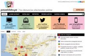 Pasa el Dato: Web para denunciar irregularidades en la Revocatoria 2013