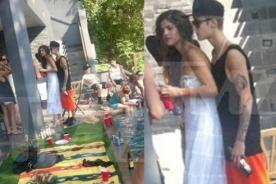 Revelan foto de Selena Gomez y Justin Bieber juntos en una celebración