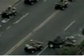 Parada Militar: Unidades motorizadas sufren choque en desfile - Video