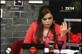 Video: Milagros Leiva lanzó duras críticas hacia Cenaida Uribe