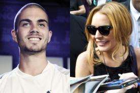The Wanted: Max George se reencuentra con Lindsay Lohan