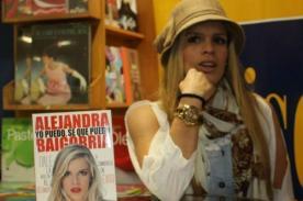 Alejandra Baigorria presentó su libro 'Yo puedo, sé que puedo'