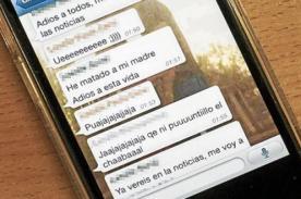 Un joven mató a su madre y reveló su crimen por WhatsApp