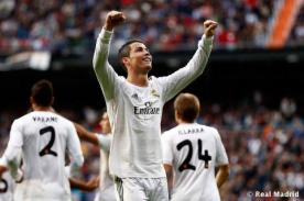 Video: Real Madrid goleó con espectacular hat trick de Cristiano Ronaldo