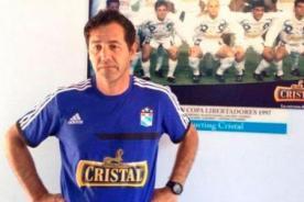 Daniel Ahmed fue presentado como nuevo técnico de Sporting Cristal