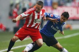 Copa Alemana: Bayern Munich vs Hamburgo en vivo por DirecTV