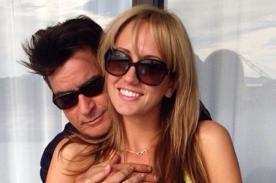 Charlie Sheen le propuso matrimonio a Brett Rossi en San Valentín