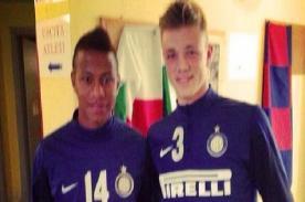 Andy Polo marcó su primer gol oficial con el Primavera del Inter de Milán