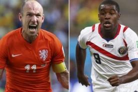 Holanda vs Costa Rica: Europeos en penales pasan a Semifinales del Mundial Brasil 2014