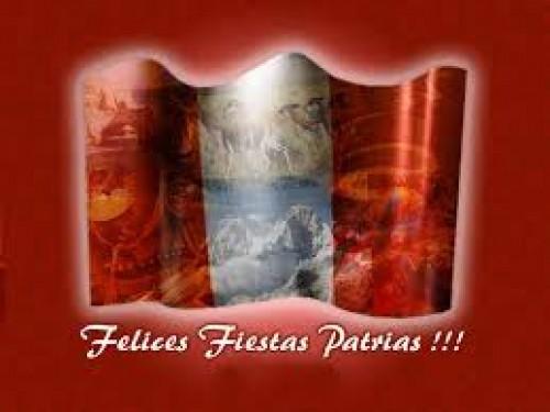 Feliz 28 de Julio: Fiestas Patrias Perú celebremos juntos la Independencia