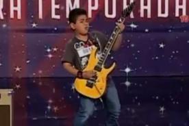 Perú tiene talento: El mejor guitarrista del 'mundo' sorprende a jurado [VIDEO]