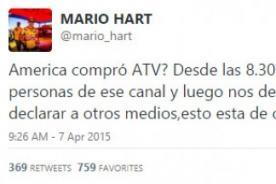 Mario Hart deja intrigante mensaje en Twitter sobre ATV