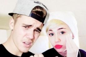 Instagram:¡Miley Cyrus sorprende con saludo a Justin Bieber!