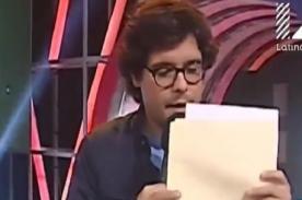 Chibolín escribe seria carta a Reto de Campeones tras accidente de Josetty - VIDEO