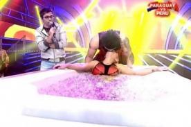 Combate: ¿Julieta Rodríguez te rompe el corazón enamorándose de Zumba? - VIDEO