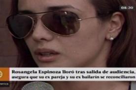 Rosángela Espinoza rompe en llanto al revelar esto de Carloncho y su bailarin Lucas Piro