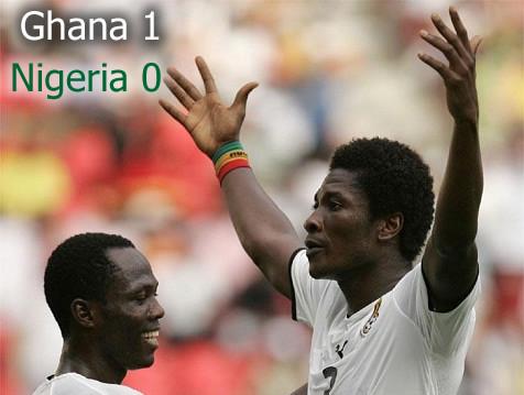 Copa de África 2010: Nigeria quedo en la tercera ubicación