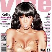 Kelly Rowland posa en topless para portada de revista Vibe