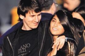 Novia de Messi anuncia embarazo