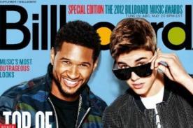 Justin Bieber se luce en la portada de la revista Billboard con Usher
