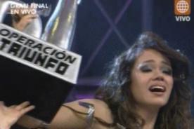 Operación Triunfo: Mayra Goñi se consagra como la mejor cantante