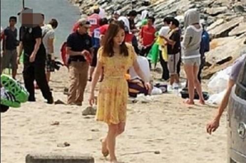 Kpop: Taeyeon de SNSD es captada filmando el drama Running Man