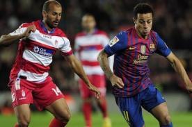 Video del Barcelona vs Granada (2-0) - Liga Española 2012-13