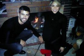 Shakira y Piqué pasaron una Navidad en familia
