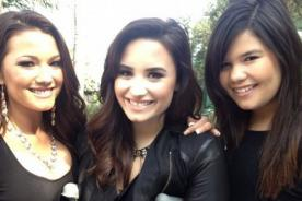 Demi Lovato tuvo divertido día con sus hermanas