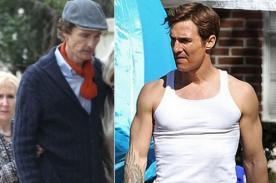 Matthew McConaughey recupera su saludable figura