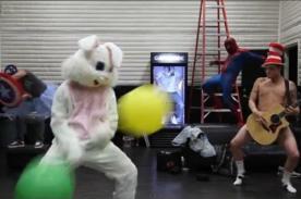 The Backstreet Boys realizan su propia versión del Harlem Shake - Video