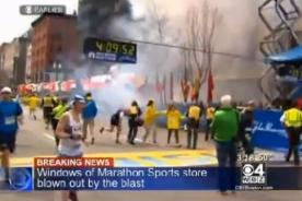 Reacciones de artistas ante explosiones en Boston