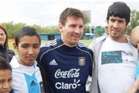 Duelo de Gigantes: ¿Qué hace la Fundación Leo Messi? - Messi en Lima