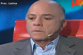 Video: Rómulo León confesó que le dolió cuando Alán García lo llamó 'rata'