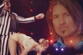 Papá de Miley Cyrus se pronuncia tras su espectáculo en los VMA 2013