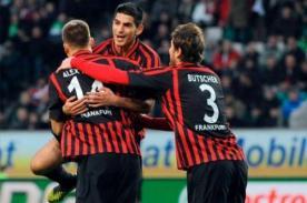 Bundesliga: Con Carlos Zambrano, Eintracht Frankfurt goleó al Werder Bremen
